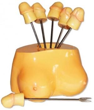 Porta stuzzichini a forma di seno