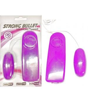 Ovetto vibrante super potente 10 velocità rosa