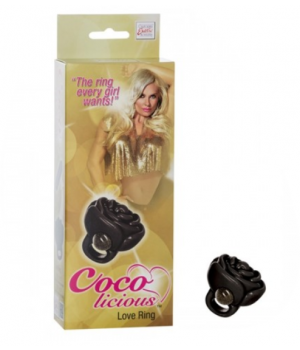 Discreto Anello & Stimolatore clitorideo Coco Delicious