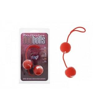 Palline Geishavaginali -Marbilized Duo Balls - Red (oggettistica)
