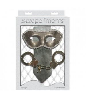 """Elegante kit di """"50 sfumature di grigio"""" Sexperiments - Thrillogy (oggettistica)"""