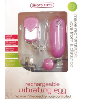 Ovetto wireless ricaricabile Vibrating Egg (oggettistica)