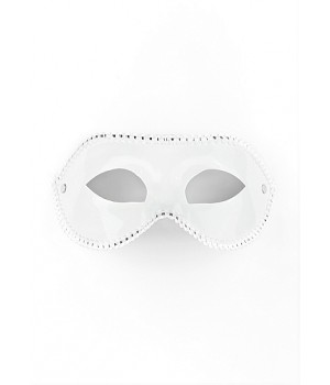 Mascherina bianca-Mask for Party - White