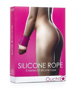 Corda in silicone Rope - Rosa - OUCH (oggettistica)