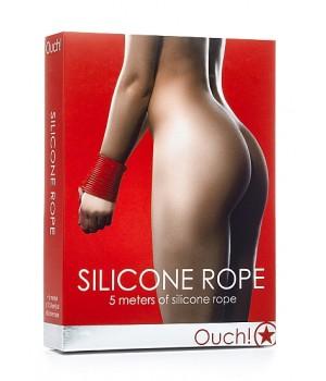 Corda in silicone Rope - Rossa - OUCH (oggettistica)
