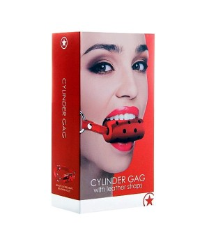 Morso Rosso-Cylinder Gag - Red (oggettistica)