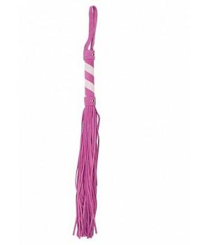 Frusta-Whip - Suede - Pink / White (oggettistica)