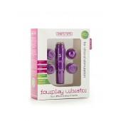 Stimolatore clitorideo Fourplay - Purple (oggettistica)