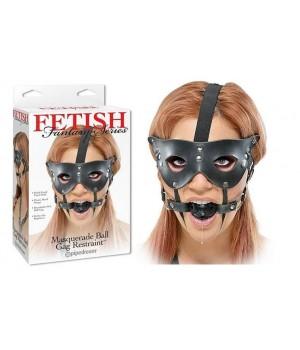 Maschera sottomissione con morso masquerade ball gag